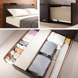 フランスベッド タップ収納 引き出し収納 宮付きベッド デュカス ダブル ベッド フレームのみ|kaguya-kaguya|04