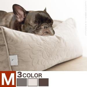 ペット用品 ペット ベッド ドルチェ Mサイズ タオル付き カドラー 犬用 猫用 小型 中型 ソファタイプ|kaguya-kaguya