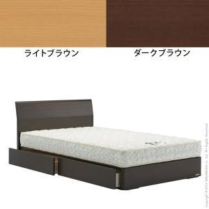 フランスベッド 引き出し収納付きベッド ダイアン シングル デュラテクノスプリングマットレスセット|kaguya-kaguya|02