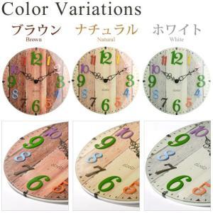 時計 掛け時計 インテリア 壁掛け時計 おしゃれ アナログ 掛時計 北欧 時計 インテリア雑貨 ウォールクロック シンプル カントリー調 子供部屋|kaguya|02