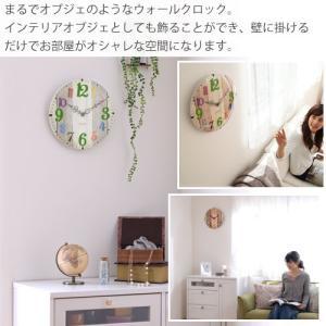 時計 掛け時計 インテリア 壁掛け時計 おしゃれ アナログ 掛時計 北欧 時計 インテリア雑貨 ウォールクロック シンプル カントリー調 子供部屋|kaguya|11