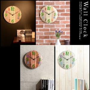時計 掛け時計 インテリア 壁掛け時計 おしゃれ アナログ 掛時計 北欧 時計 インテリア雑貨 ウォールクロック シンプル カントリー調 子供部屋|kaguya|14