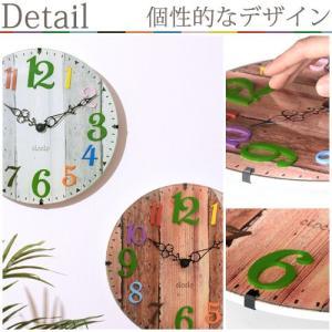時計 掛け時計 インテリア 壁掛け時計 おしゃれ アナログ 掛時計 北欧 時計 インテリア雑貨 ウォールクロック シンプル カントリー調 子供部屋|kaguya|07
