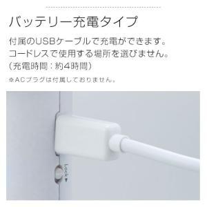 ハンディファン 扇風機 コンパクト アロマ モバイルバッテリー USB ストラップ 卓上 充電式 5段階 強力 暑さ対策グッズ おしゃれ|kaguya|10