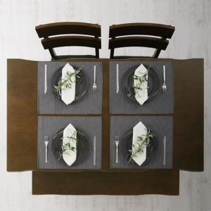 ダイニングテーブル 食卓テーブル ダイニング カフェ テーブル 4人掛け 長方形|kaguya|04