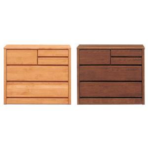 ローチェスト 3段 ブラウン ナチュラル 幅80cm 木製 完成品 好きにも人気 激安セール アウトレット 家具 ランキング リビング タンス|kaguyatai