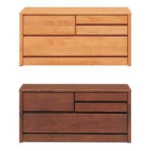 ローチェスト 2段 ブラウン ナチュラル 幅100cm 木製 完成品 好きにも人気 激安セール アウトレット 家具 ランキング リビング タンス|kaguyatai
