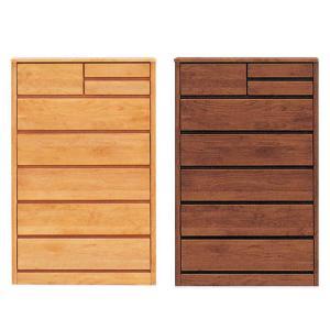 ハイチェスト 6段 ブラウン ナチュラル 幅80cm 木製 完成品 好きにも人気 激安セール アウトレット 家具 ランキング リビング タンス|kaguyatai