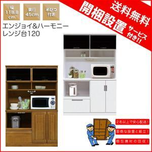 レンジ台 米びつ付き 完成品 幅120cm 家具 好きにも人気|kaguyatai