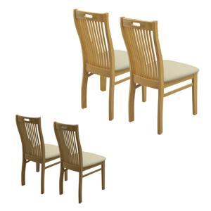 ダイニングチェア ダイニングチェアー 2脚セット 食卓椅子 完成品 木製 肘なし アウトレット セール|kaguyatai