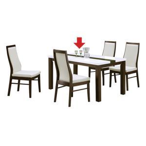 幅135cm ダイニングテーブル 食卓テーブル 4人用 4人掛け 木製 長方形 ホワイト 白 ブラウン エナメル塗装 光沢感 北欧 モダン おしゃれ シンプル|kaguyatai