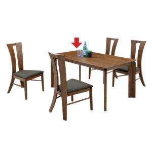 【単品】ダイニングテーブル 4人 北欧 モダン シンプル 木製 140/食卓テーブル 木製テーブル ...