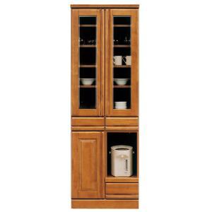 食器棚 キッチンボード キッチン収納 幅60cm 完成品 木製 おしゃれ 人気 家具 アウトレット セール|kaguyatai