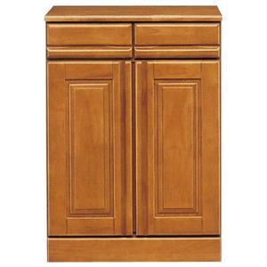 幅60cm キッチンカウンター キャスター 下収納 キッチン スリム 収納 完成品 木製 国産/棚 60幅 食器 幅60 高さ81cm 引き出し 開き戸 日本製|kaguyatai