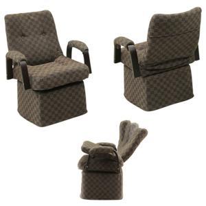 ダイニングチェア こたつチェア リクライニングチェア 肘付き 回転 リクライニング/こたつ 椅子 ダイニングこたつ チェア 肘付 回転椅子 回転チェア ハイタイプ|kaguyatai