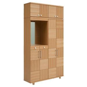 下駄箱 シューズボックス 完成品 幅120cm 上置付き 開梱設置無料|kaguzanmai01