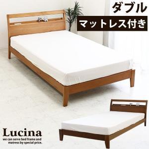 ベッド ベット マットレス付き ダブルベッド (SALE セール)|kaguzanmai01