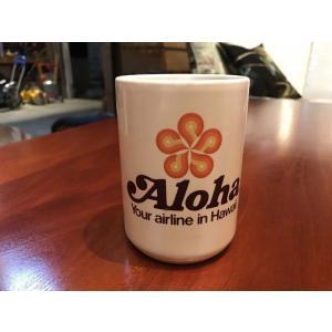 アロハエアライン ビンテージ マグカップ kahinetshop