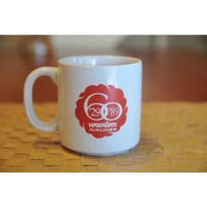 ハワイアンエアライン60周年記念マグカップ ハワイアン雑貨 kahinetshop