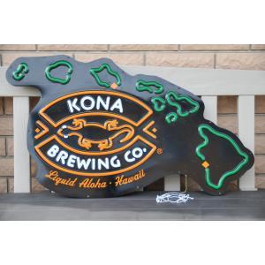 ハワイコナビール ネオンサイン Kona brewing beer bar sign LED|kahinetshop