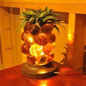ハワイアンアンティーク パイナップルテーブルランプ ハワイ ハワイアナ ハワイランプ フラランプ ミッドセンチュリー ハワイアンランプ|kahinetshop