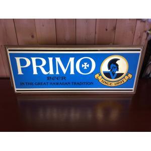 プリモビール バナーランプ バーライト ネオンサイン1978年頃 ハワイアンランプ|kahinetshop