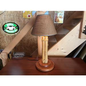 ラタンテーブルランプS|kahinetshop