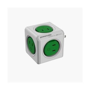 allocacoc 電源タップ PowerCube 緑/コードなし 4190/JPORPC お取り寄せ|kahoo