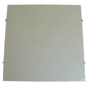 お取り寄せ アコースティック・アドバンス 吸音パネル 天井用 ピンタイプ(フック付き) ベージュ 4枚セット|kahoo