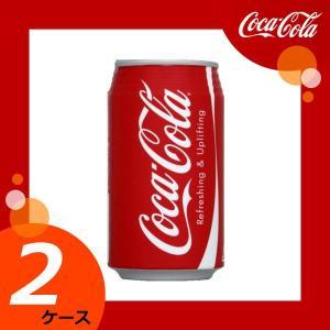 【2ケースセット】 コカ・コーラ 350ml缶 【メーカー直送/日本郵便/代引不可/全国送料無料】|kahoo