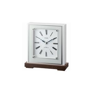 4RY706-003 リズム時計工業 置き時計 マリアージュ706 白光沢仕上 お取り寄せ|kahoo