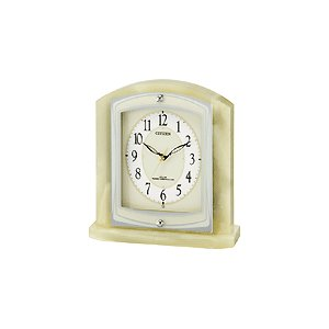 8RY400-005 リズム時計工業 置き時計 パルラフィーネR400 ライトグリーン お取り寄せ|kahoo