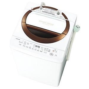 東芝 6kg 全自動洗濯機 ブラウン AW-6D3M-T 【中型】