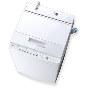 全自動洗濯機 7kg AW-7D7 ZABOON ザブーン DDインバーター 東芝 AW-7D7-W グランホワイト (1)|kahoo