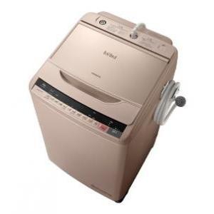 日立 10kg 全自動洗濯機 ビートウォッシュ シャンパン BW-V100A-N 在庫わずか【大型】
