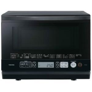 石窯ドーム スチームオーブンレンジ 東芝 ER-SD70-K 角皿式 総庫内容量26L ブラック (1)|kahoo