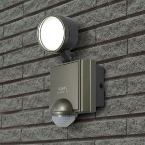 お取り寄せ ESL-601AC 朝日電器 ELPA 屋外用センサーライト AC電源 6wLED 1灯|kahoo