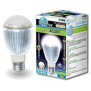 FLED60N FINE LED電球 60W相当(昼白色) 在庫わずか|kahoo