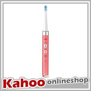 音波式電動歯ブラシ メディクリーン オムロン ピンク HT-B311-PK (1)|kahoo