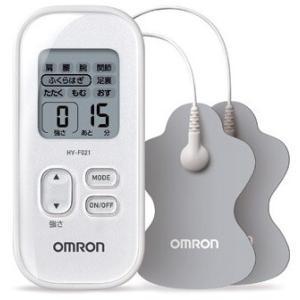 オムロン 低周波治療器 HV-F021-W ホワイト (1)|kahoo
