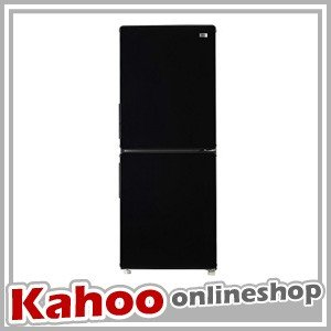 ハイアール 148L 冷凍冷蔵庫 -K ブラック JR-NF148A-K 冷蔵庫 一人暮らし 在庫わずか|kahoo