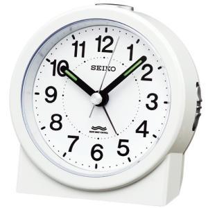 セイコークロック 目覚まし時計 KR325W お取り寄せ|kahoo