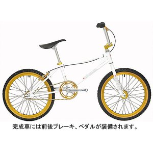 KUWAHARA KZ-01 6th BMX ホワイト KZ-01-6th-WH