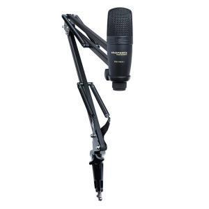 放送、配信用 USBコンデンサーマイク&ブームアームスタンド Pod Pack 1 MP-BCS-002|kahoo