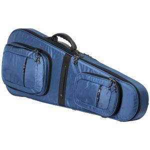 お取り寄せ SHE120 KC エレキギター用セミハードケース ブルー|kahoo