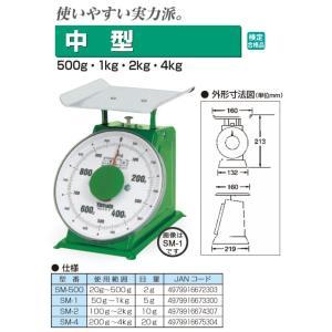 SM-4 大和製衡 中型上皿はかり 検定合格品 お取り寄せ|kahoo