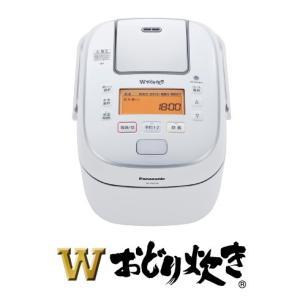 圧力IHジャー炊飯器 SR-PW108-W おどり炊き パナソニック 1.0L 0.5-5.5合 (1)|kahoo