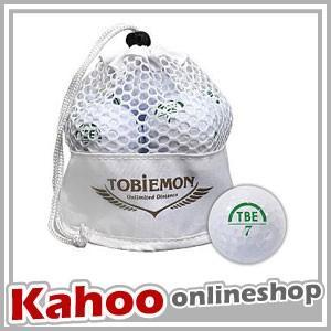 公認球 飛衛門 TOBIEMON 2ピース ホワイト TBM-2MBW / 12球入り メッシュバッグ入り 2017年モデル|kahoo