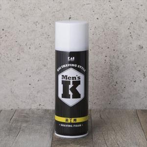 貝印  Men`s K  シルクプロテイン配合シェービングフォーム