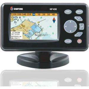 サムヨン NF430 GPSプロッター魚探 トランサム用振動子付き|kai-you